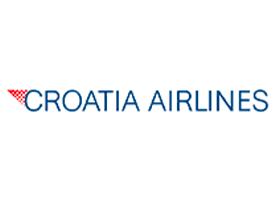 Slika predstavlja logo kompanije Croatia Airlines.