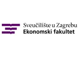 Slika predstavlja logotip Ekonomskog fakulteta u Zagrebu.