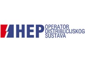 Slika predstavlja logotip kompanije HEP.