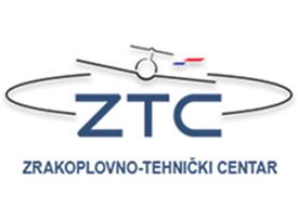 Slika predstavlja logotip zrakoplovno tehničkog centra.